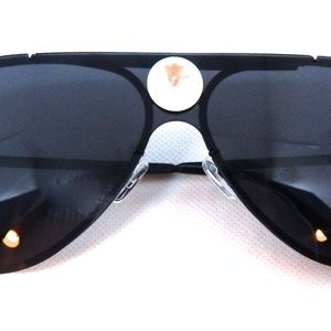 GASOLINE GLAMOUR Accessories - PANTHER POWER SMOKE OPAL AVIATOR GLASSES NEW